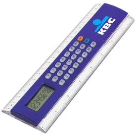 Liniaal rekenmachine 20 cm Profex