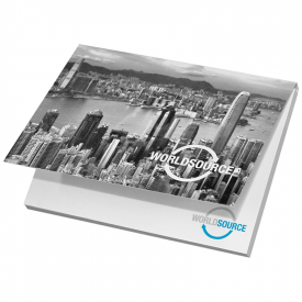 Memoblok met softcover 100 x 75 mm