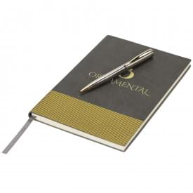 Midas cadeauset met notitieboek en pen