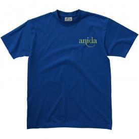 Premium zwaar katoenen unisex t-shirt