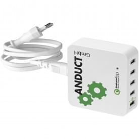 Quick Charge™ 2.0 USB oplader met AC netstroom adapter