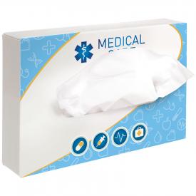 Rechthoekige tissuebox met 50 tissues