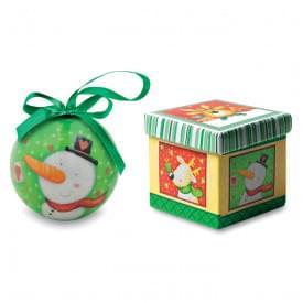Santy kerstbal in schenkverpakking