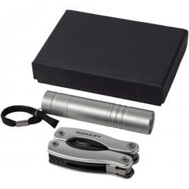 Scout multifunctioneel mes en zaklamp in geschenkverpakking
