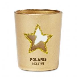 Shinny star glazen theelichthouder