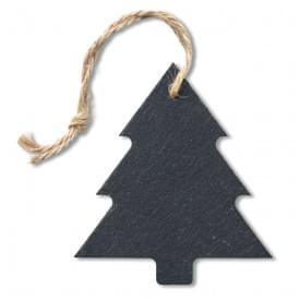 Kerstboom hanger van leisteen