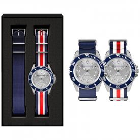 Horloge set Sport (bandjes in eigen PMS)