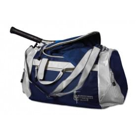 Sport/reistas met 4 ritsvakken en draagband