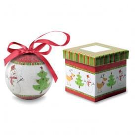 Sweety kerstbal in schenkverpakking