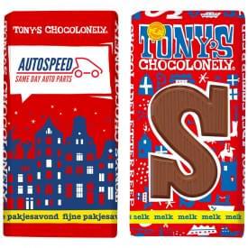 Tony's Chocolonely chocoladeletter S 180 gram