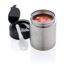 Voedselcontainer met vacuüm isolatie