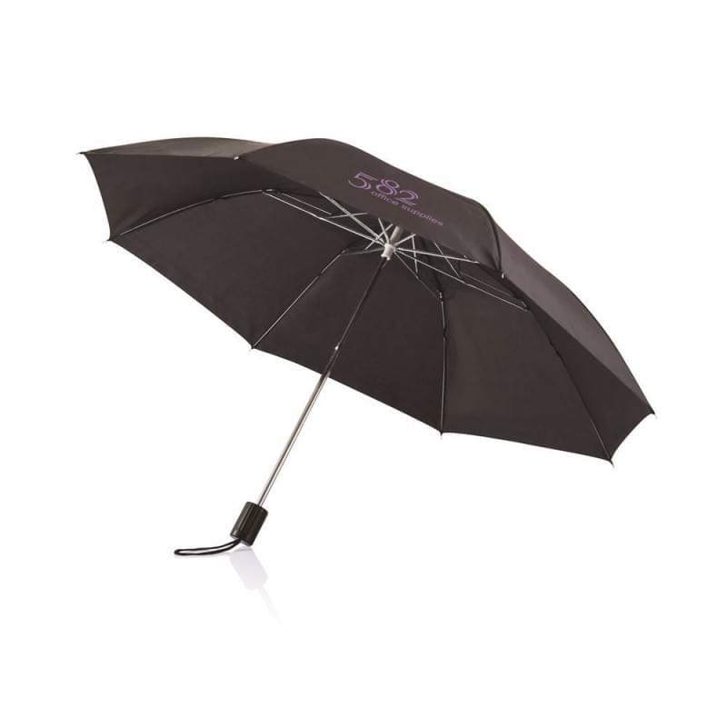 "Deluxe 20"" opvouwbare paraplu"