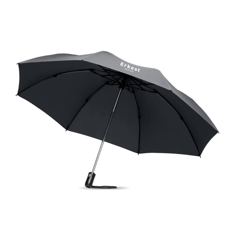 Opvouwbare reversible paraplu