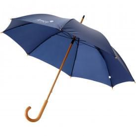Klassieke paraplu met houten handvat