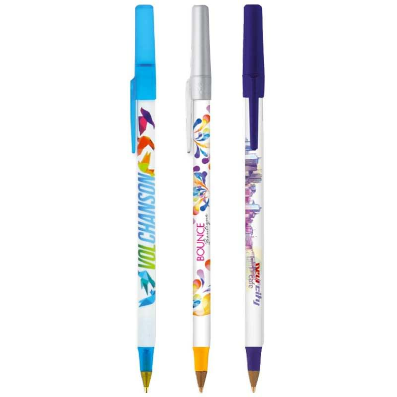 BIC Round Stic full color balpen
