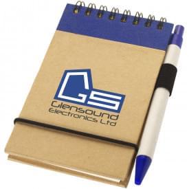 Zurse gerecycled notitieboekje A7 met pen
