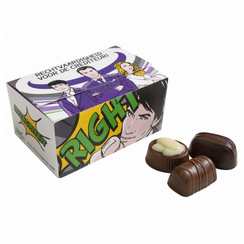 Ballotin met bonbons