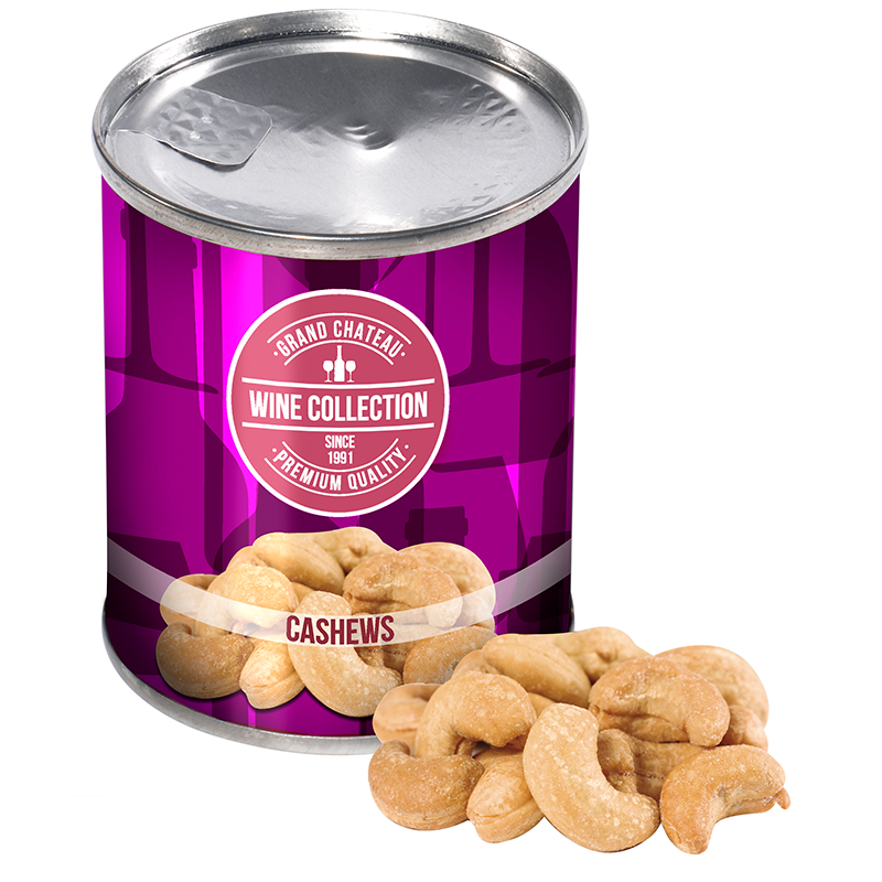 Blikje cashew noten