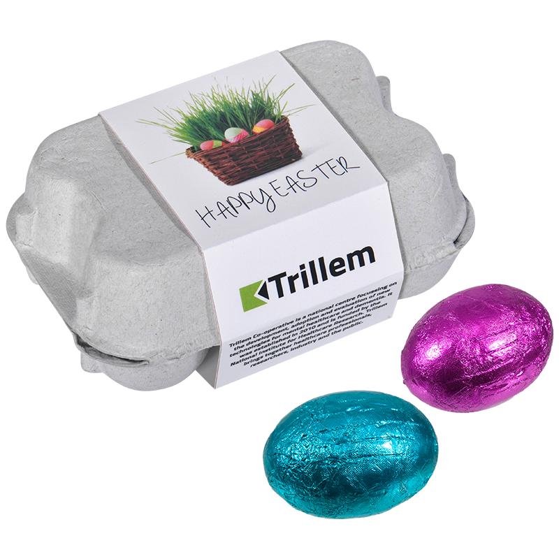 Doosje chocolade eieren