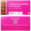 Chocoladereep met wikkel - 100 gram