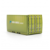 Container doosjes met pepermunt