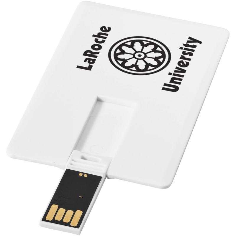 Slim credit card USB 4GB Spoed