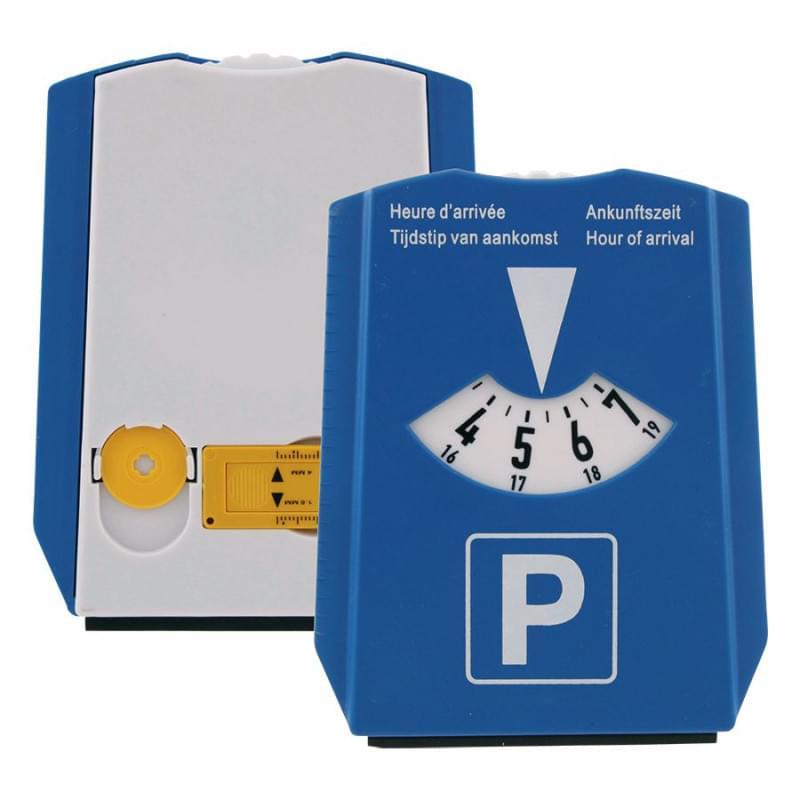Parkeerschijf Ijskrabber, Winkelwagenmuntjes en bandenprofielmeter