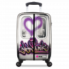 Printed suitcase spinner by SuitSuit International