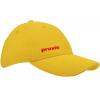 Brushed Twill cap met buckle