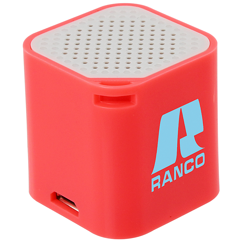 Microcube speaker