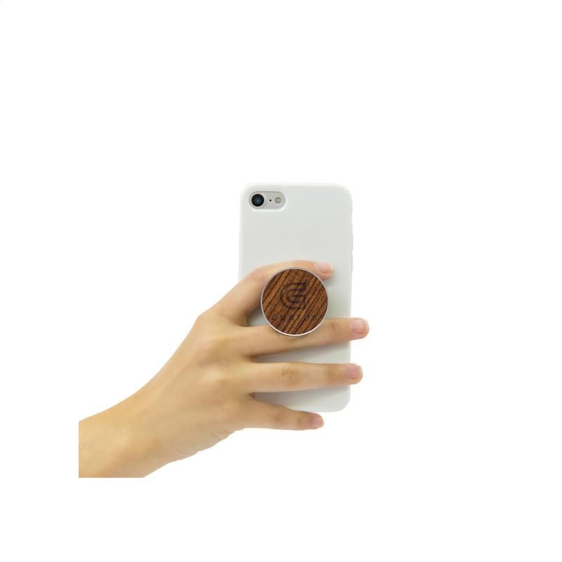 PopSockets® Wood telefoonhouder
