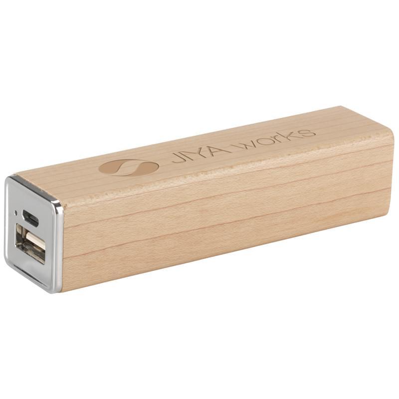 Powerbank 2000 mAh Wood externe oplader