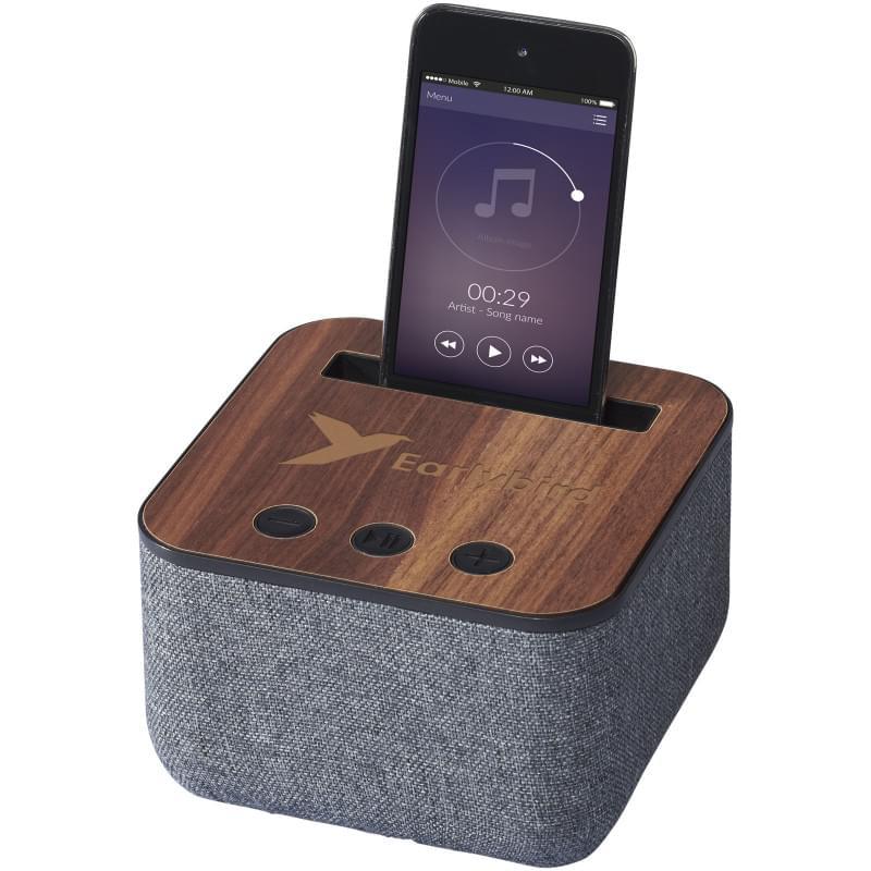 Shae stoffen en houten Bluetooth® luidspreker