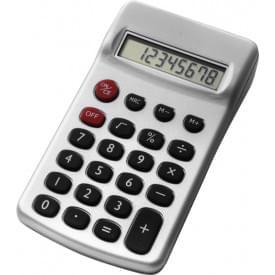 Calculator kunststof met batterij
