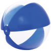 Strandbal transparant met gekleurde strepen