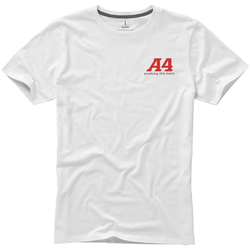 Basic katoenen heren t-shirt