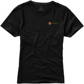 Basic katoenen dames t-shirt