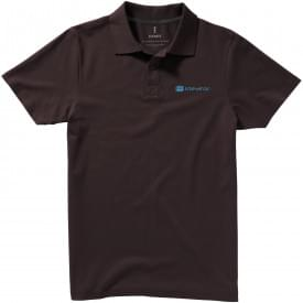Basic katoenen heren polo