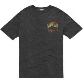 Basic katoen/polyester heren t-shirt