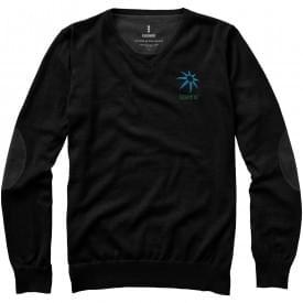 Premium heren pullover met v-hals