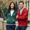 Premium heren sweater met capuchon en ritssluiting