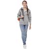 Premium kinder sweater met capuchon en ritssluiting
