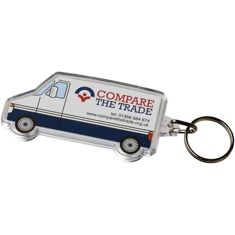 Combo busvormige sleutelhanger