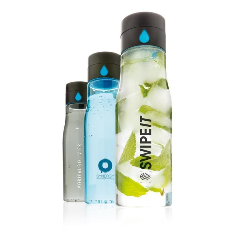 XD Design Aqua Hydration Tracking Tritan fles