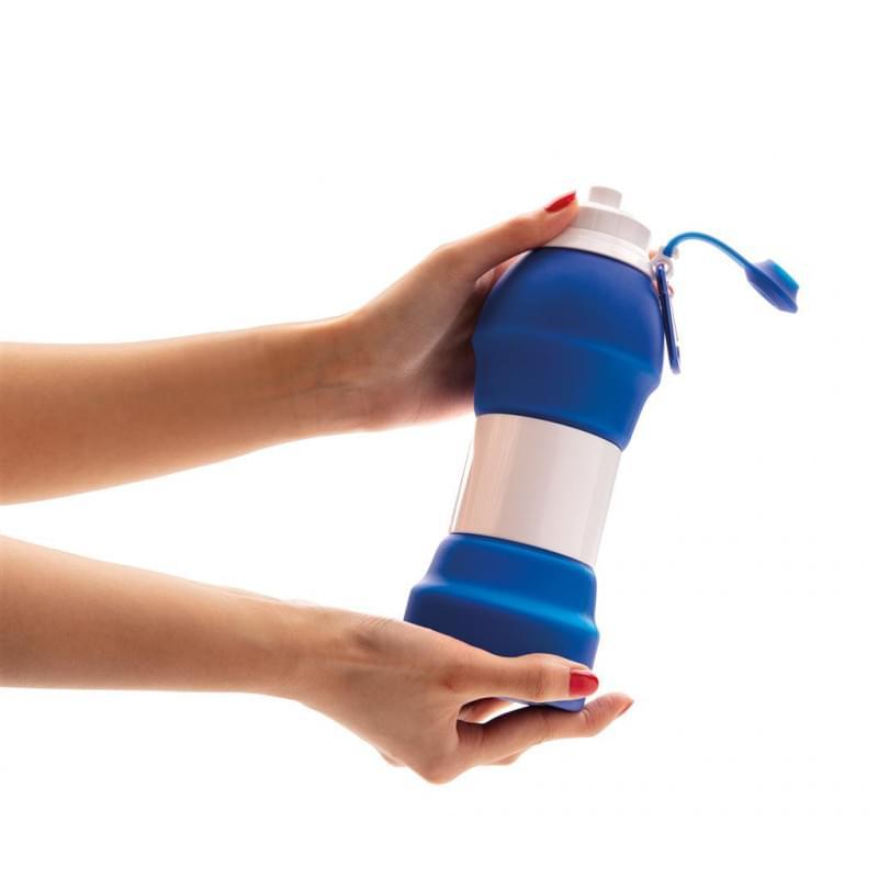 Opvouwbare siliconen sport fles