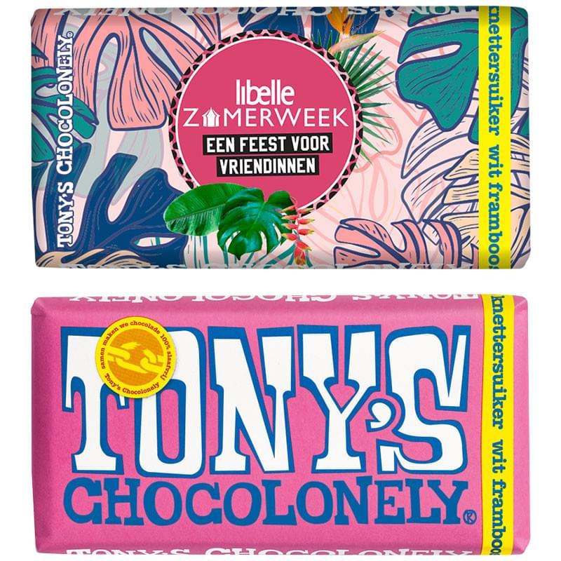 Tony's Chocolonely chocoladereep 180 gram