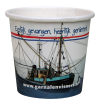 Kartonnen espresso cup 120ml