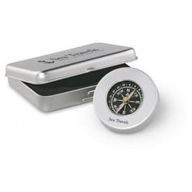 Klassiek kompas in blik