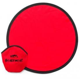 Opvouwbare frisbee in hoesje, Ø 25 cm
