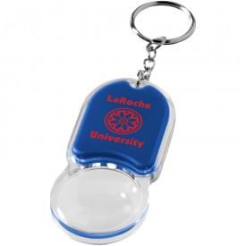 Zoomy sleutelhanger met vergrootglas en lampje